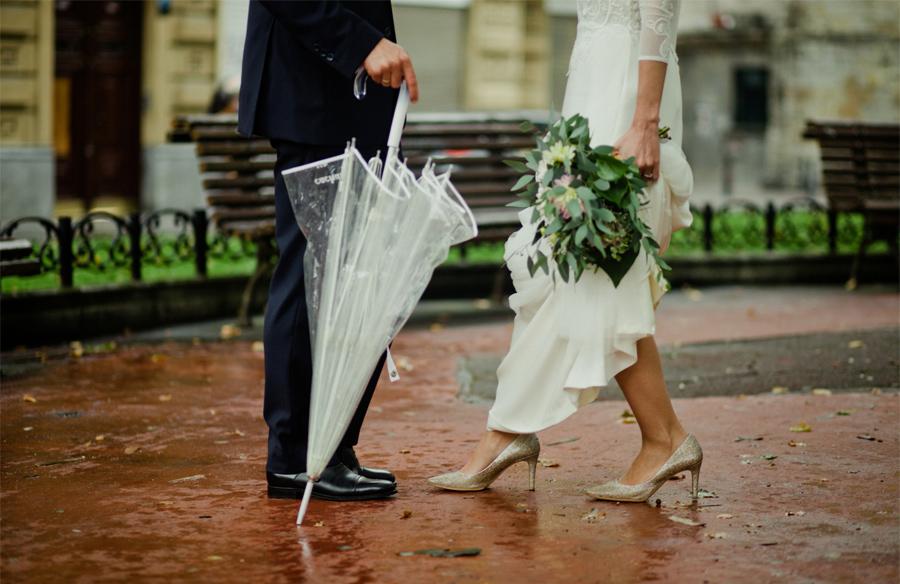 Elegante boda debajo la lluvia en bilbao - Paredero quiros bilbao ...
